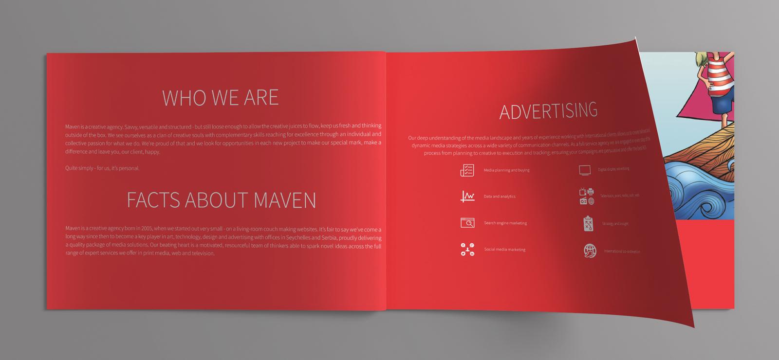 Corporate Profile 2016 | Maven